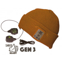Diver Down Mustard Bluetooth Beanie