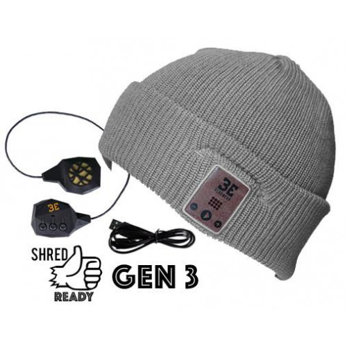 Diver Down Grey Bluetooth Beanie
