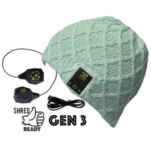 Luvspun Mint Bluetooth Beanie