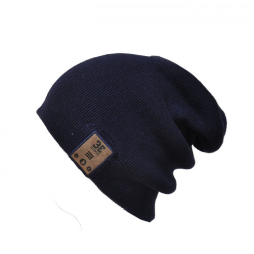 24/7 Tall Fit Ink Black Beanie Shell